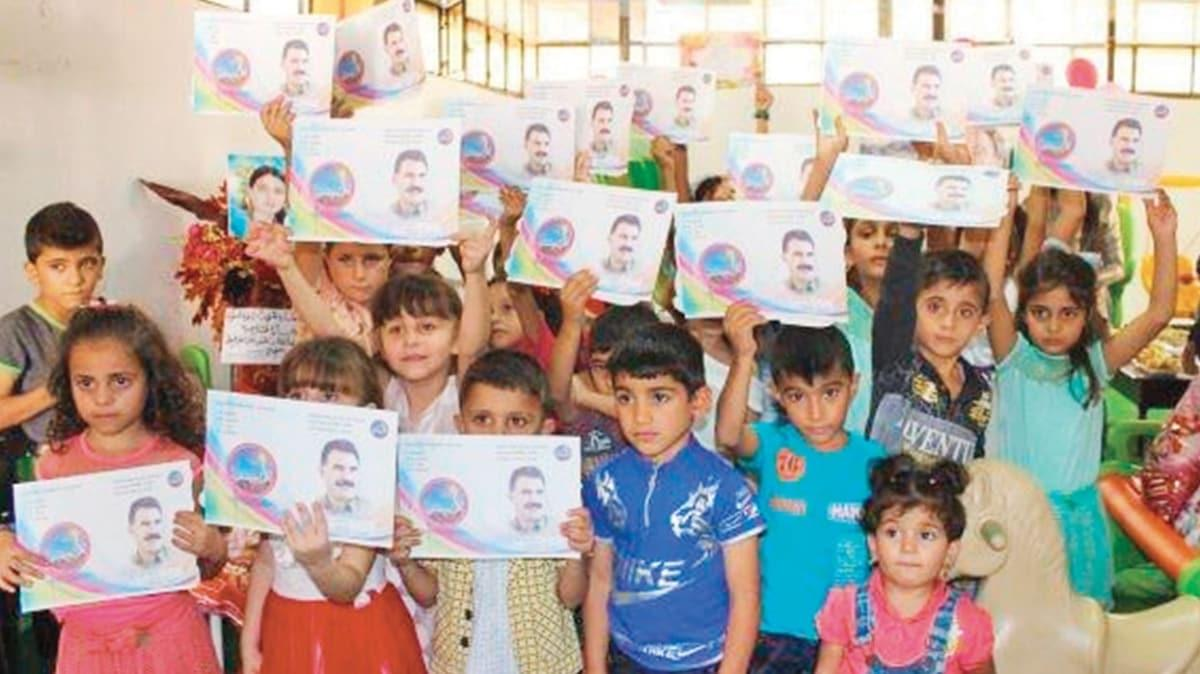 YPG'den okullarda terör dersi