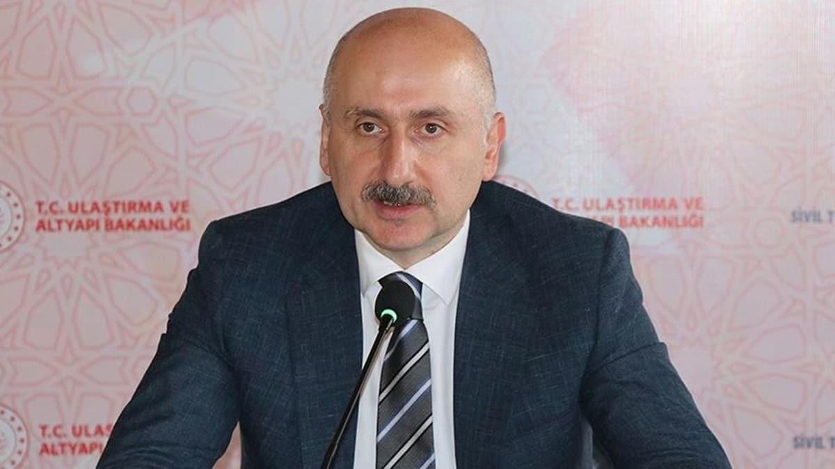 Bakan Karaismailoğlu müjdeleri sıraladı: Hızlı tren, köprü açılışı ve İstanbul Havalimanı metrosu...
