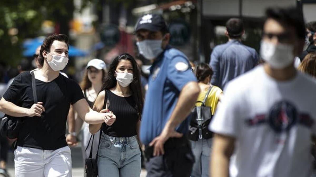 İçişleri Bakanlığı: Maske zorunluluğuna aykırı davranan 7 bin 17 kişiye idari işlem uygulandı