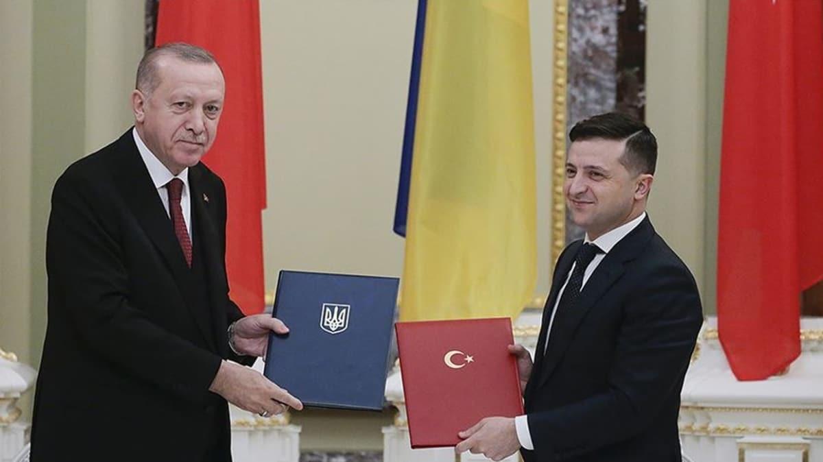 Başkan Erdoğan Zelenskiy ile görüştü