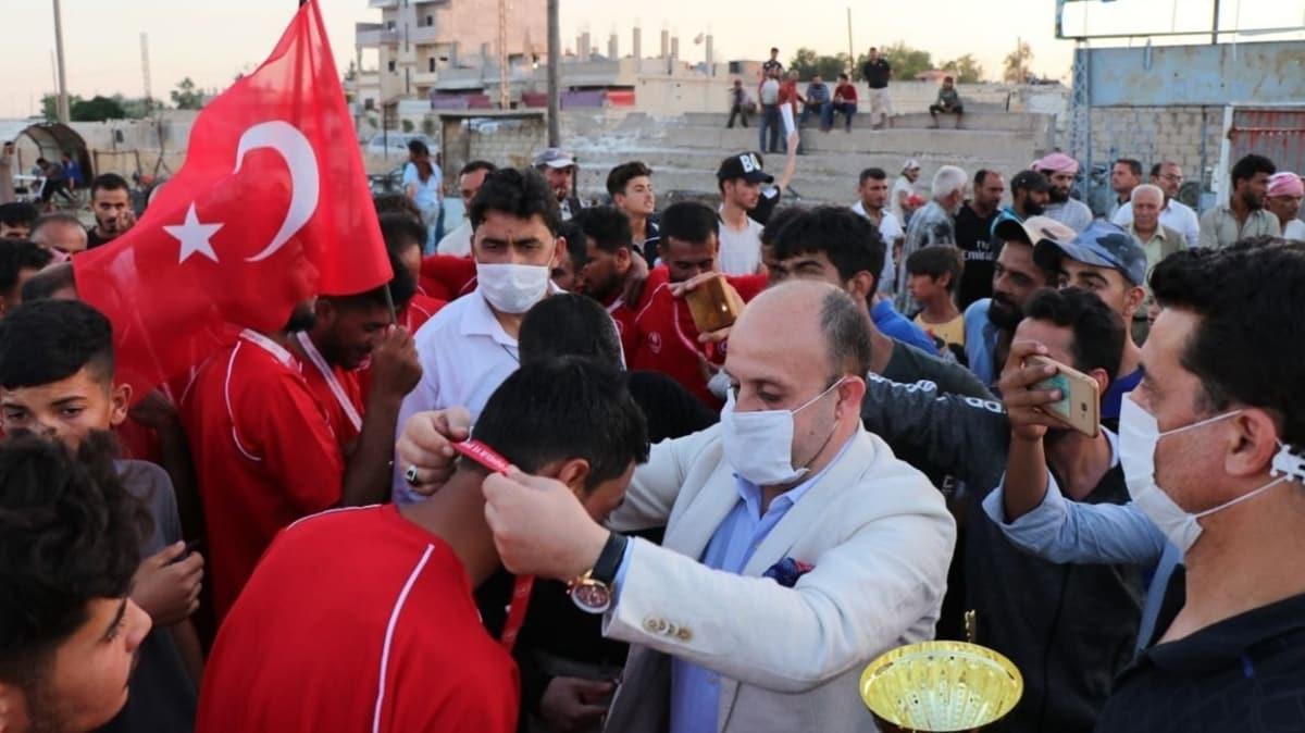Rasulayn'da 'Barış Pınarı Harekatı Futbol Turnuvası' düzenlendi