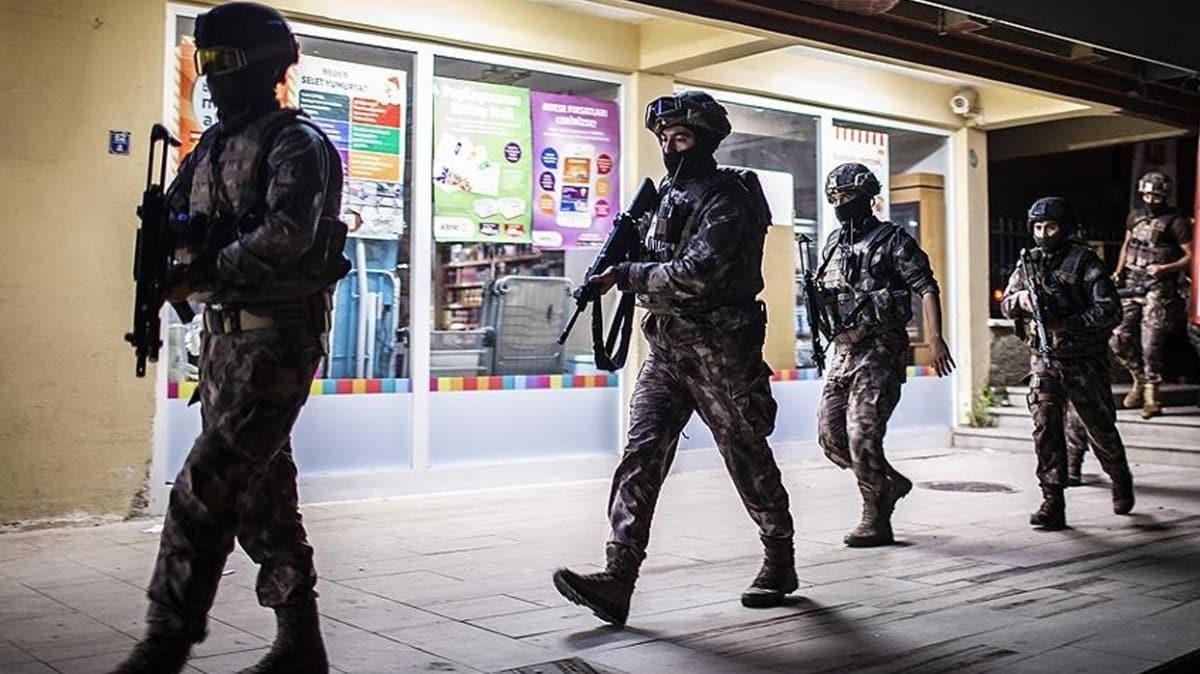 Turuncu kategorideki DHKP/C'li terörist yakalandı