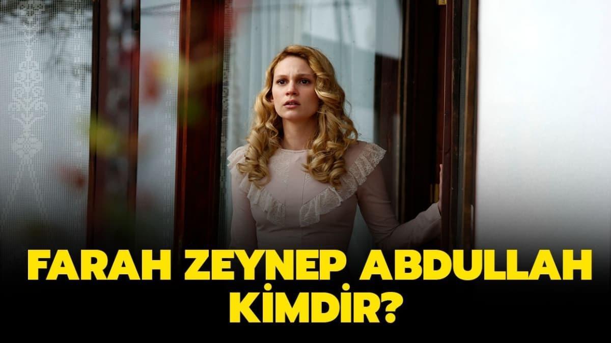 """Farah Zeynep Abdullah kimdir, kaç yaşında"""" Farah Zeynep Abdullah sevgilisi kim"""""""