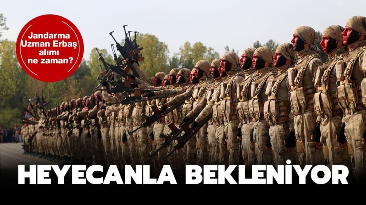 """Jandarma Uzman Erbaş alımı ne zaman"""""""