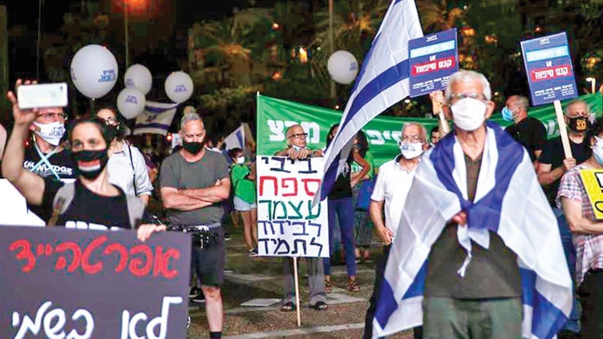 İsrail'de ilhak protestosu! 'Filistinlilerin hayatı değerlidir'