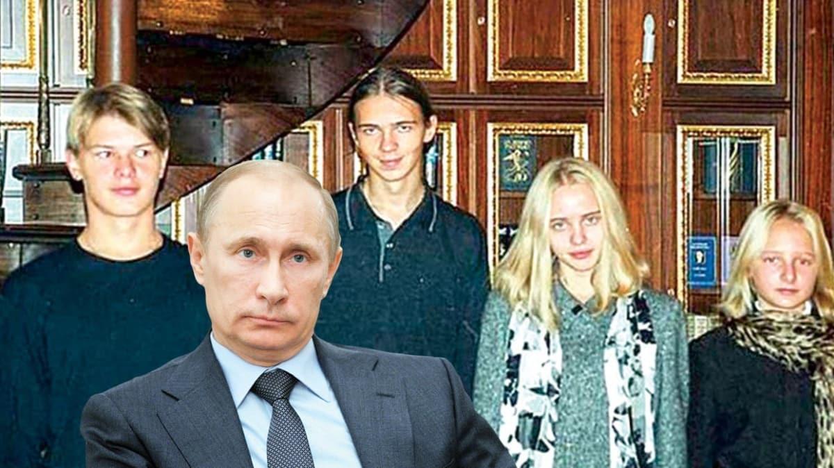 Rusya ile davalık oldu paylaştı! İşte Putin'in sakladığı kızları
