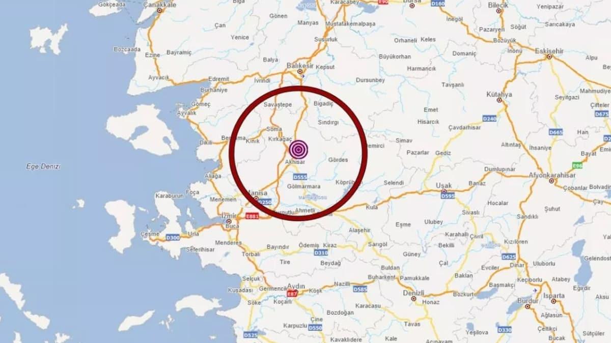 Manisa'da 5.5 büyüklüğünde deprem: İstanbul'da da hissedildi