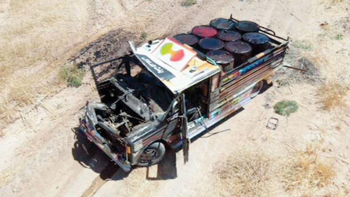 Barış Pınarı'nda büyük facia önlendi! Bomba yüklü kamyonet tanksavar ile vuruldu