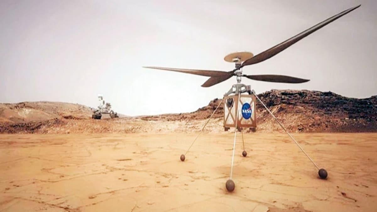 Mars'a helikopter göndermek için geri sayım