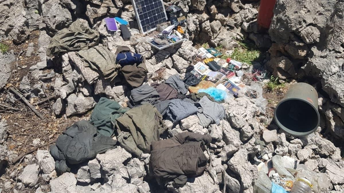 Yakalanan terörist deşifre etti: PKK'nın kış üslenmesi çökertildi