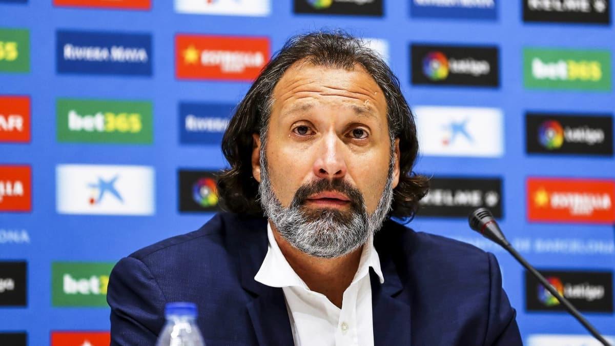 La Liga sonuncusu Espanyol'da teknik direktör değişikliği