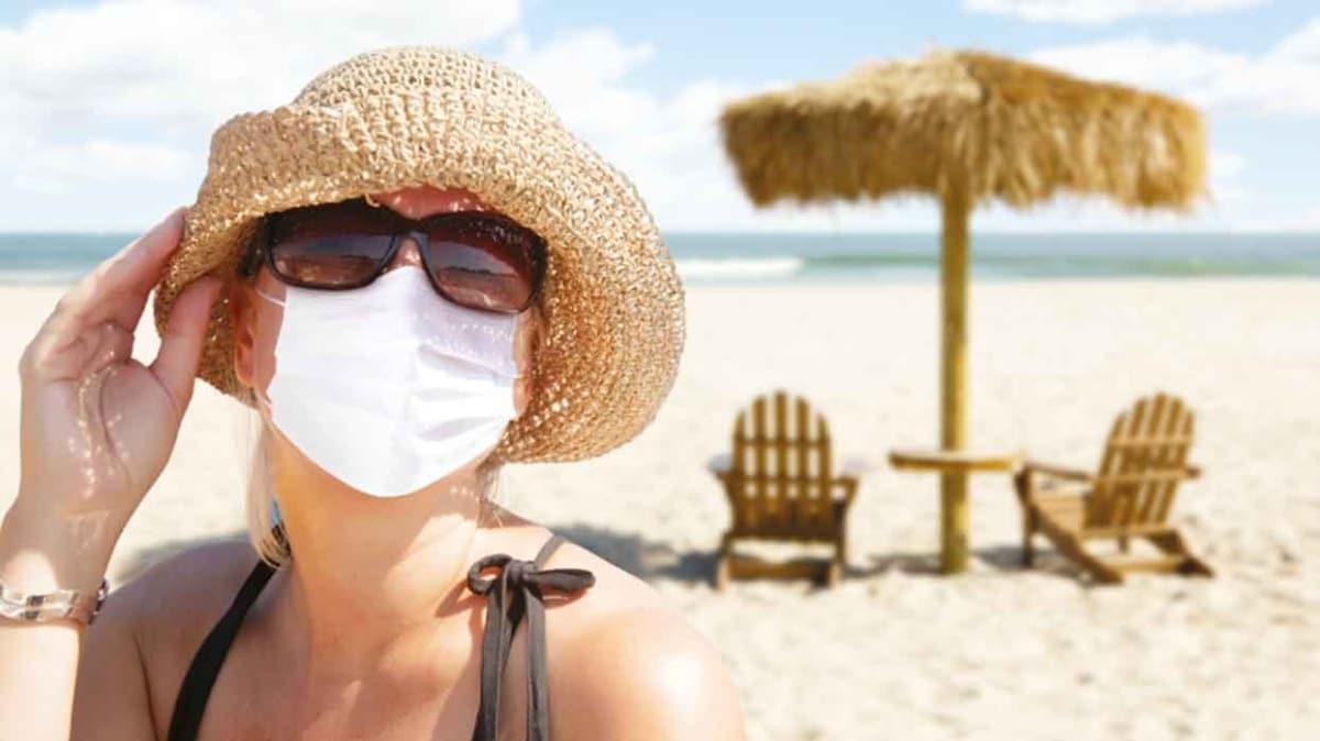 Yazın trendi: Maske mesafe temizlik