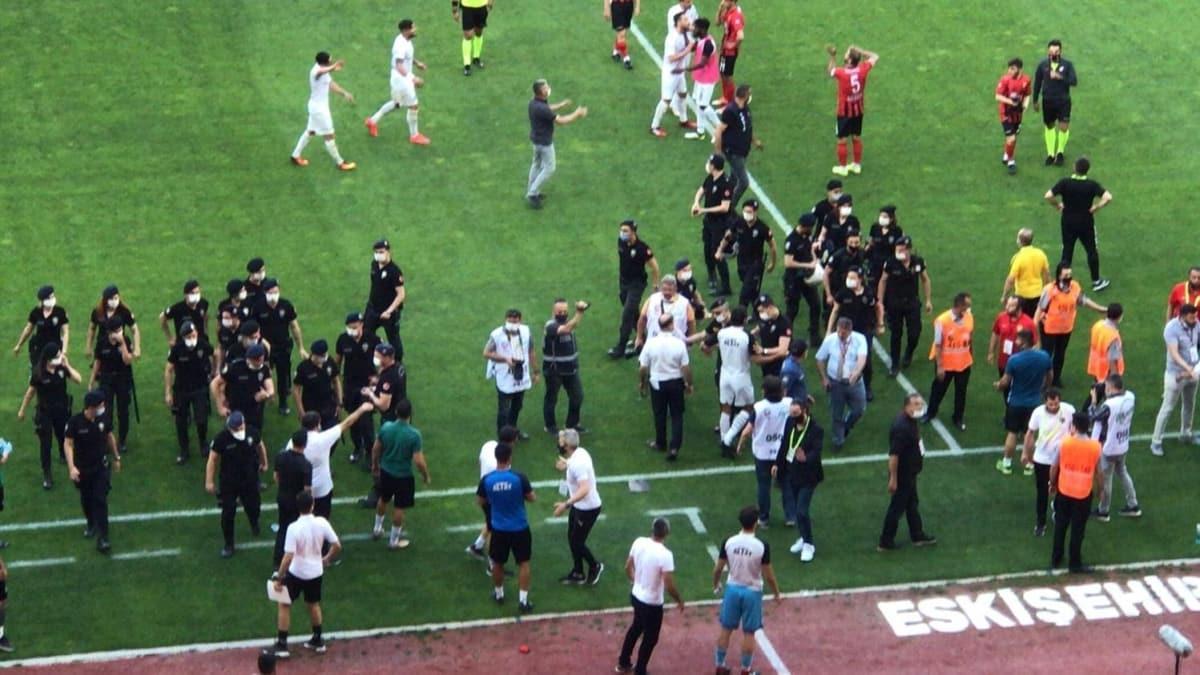 Eskişehirspor 2'nci Lig'e düştü