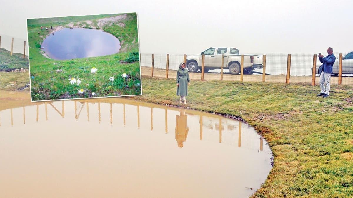 Dipsiz Göl'e tel örgülü önlem