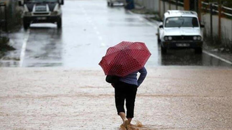 Meteoroloji'den 5 il için gök gürültülü sağanak yağış uyarısı