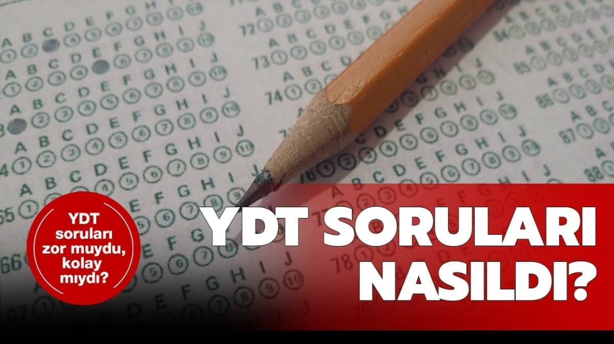 """YDT 2020 sınav yorumları haberde! YKS, YDT soruları nasıldı"""""""