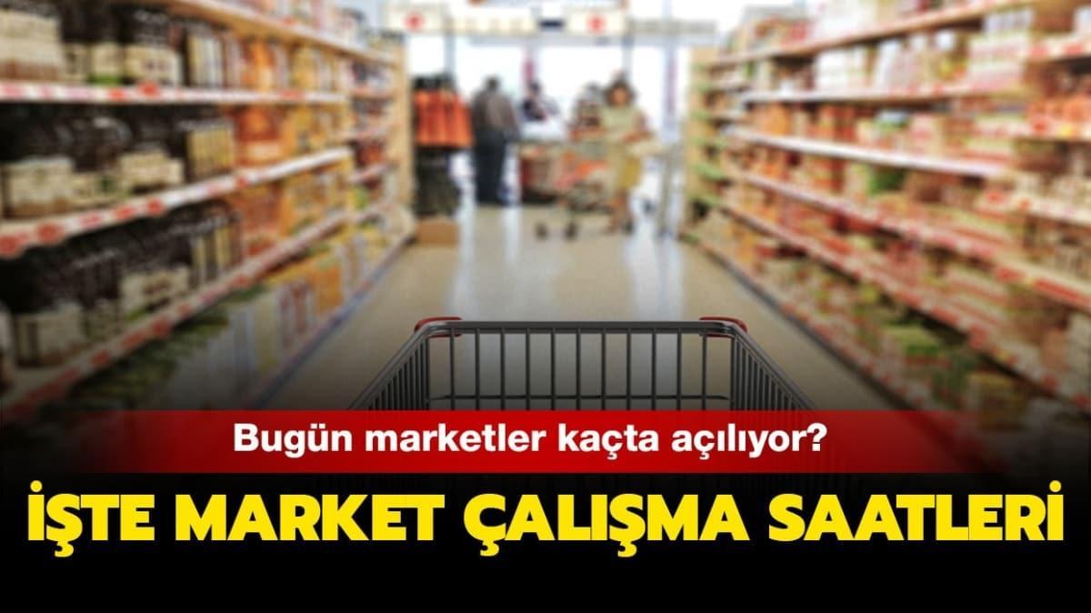 """Bugün marketler ve bakkallar kaçta kapanacak"""" 28 Haziran 2020 BİM, A101, ŞOK kaça kadar açık"""""""