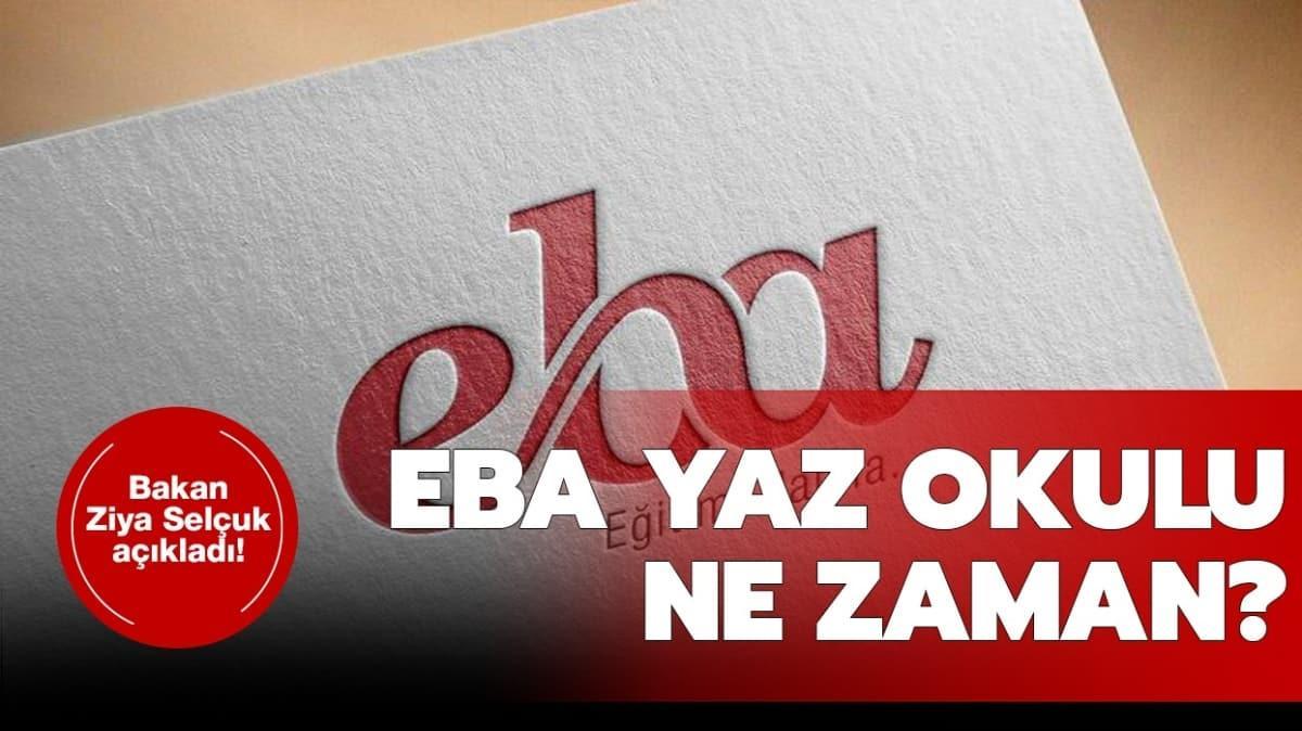 """TRT EBA yaz okulu online dersleri neler"""" TRT EBA ilkokul, ortaokul, lise yaz okulu yayın akışı..."""