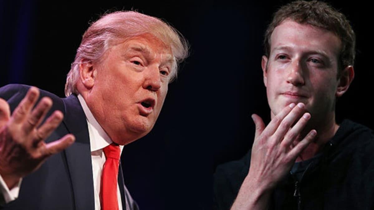 Trump'ın şiddet içerikli paylaşımını silmeyen Facebook'a ağır fatura
