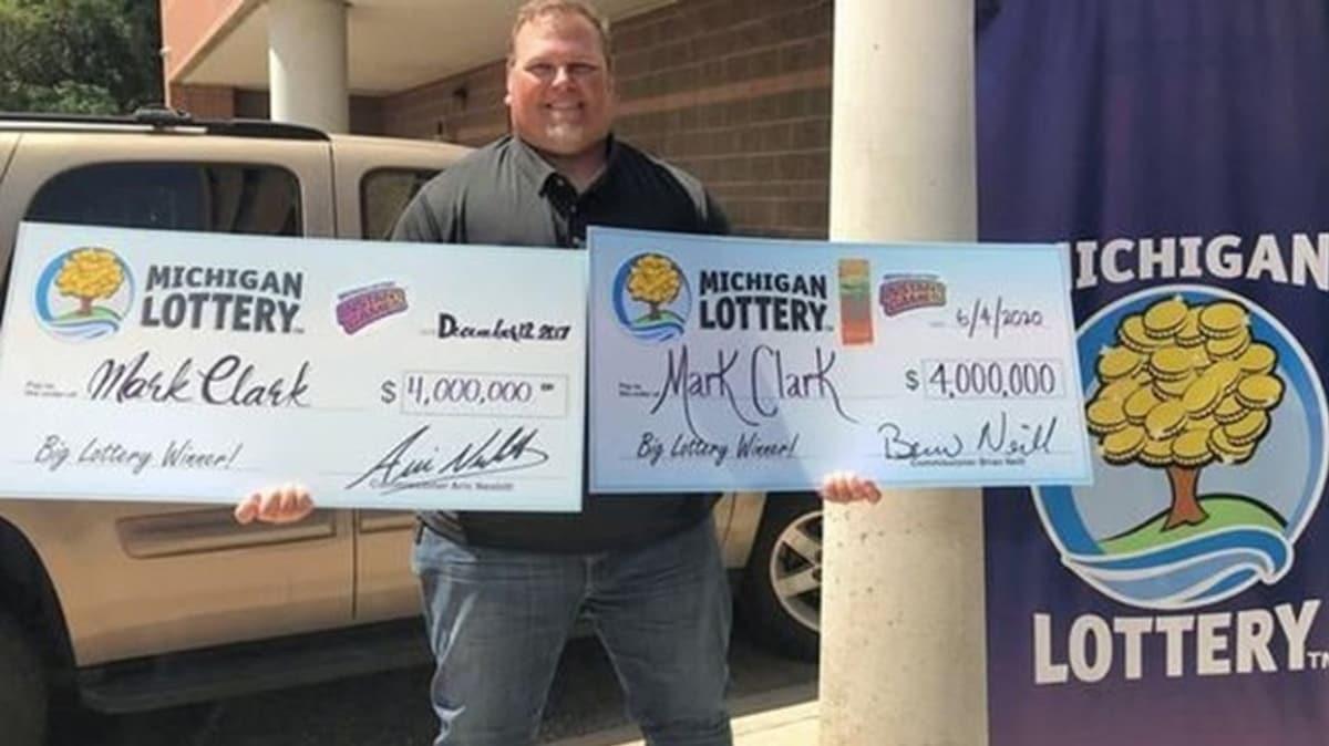 ABD'de ikinci kez 4 milyon dolarlık piyangoyu kazandı