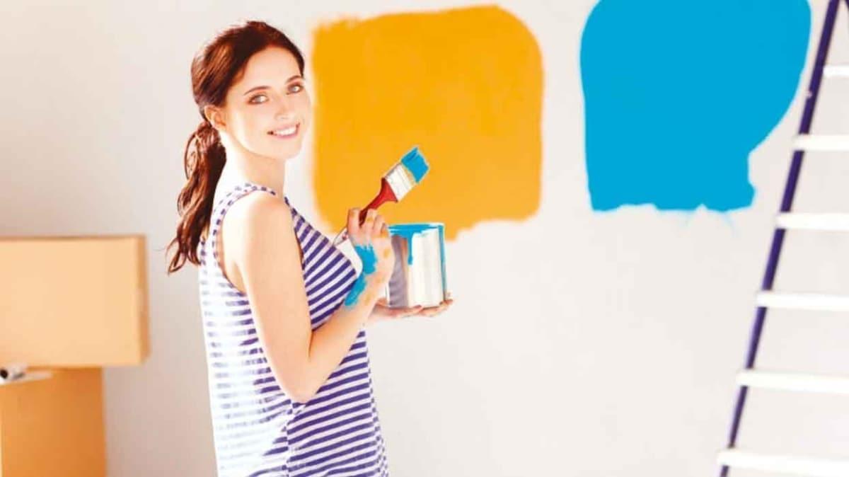 Evde sıkılanlar boyaya  sardı, Satışlar %80 arttı