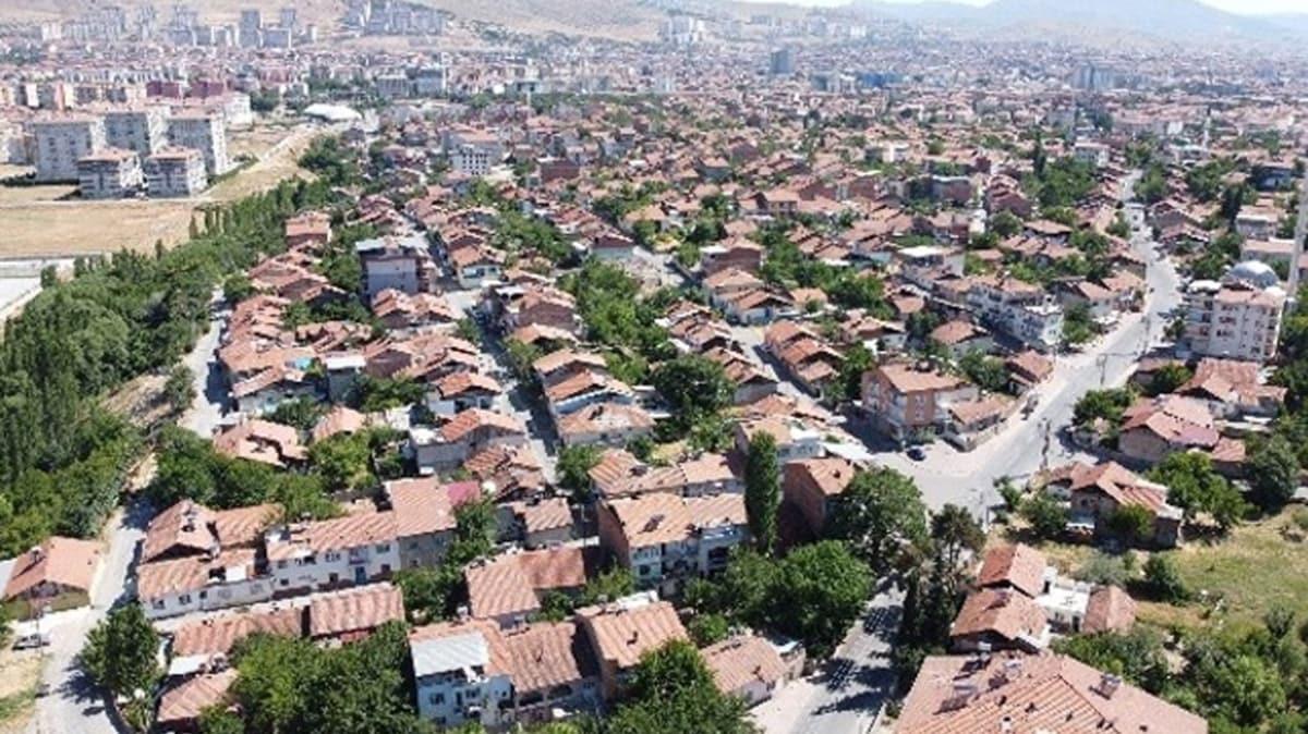 Malatya'da deprem sonrası kentsel dönüşüm için ilk adım atıldı