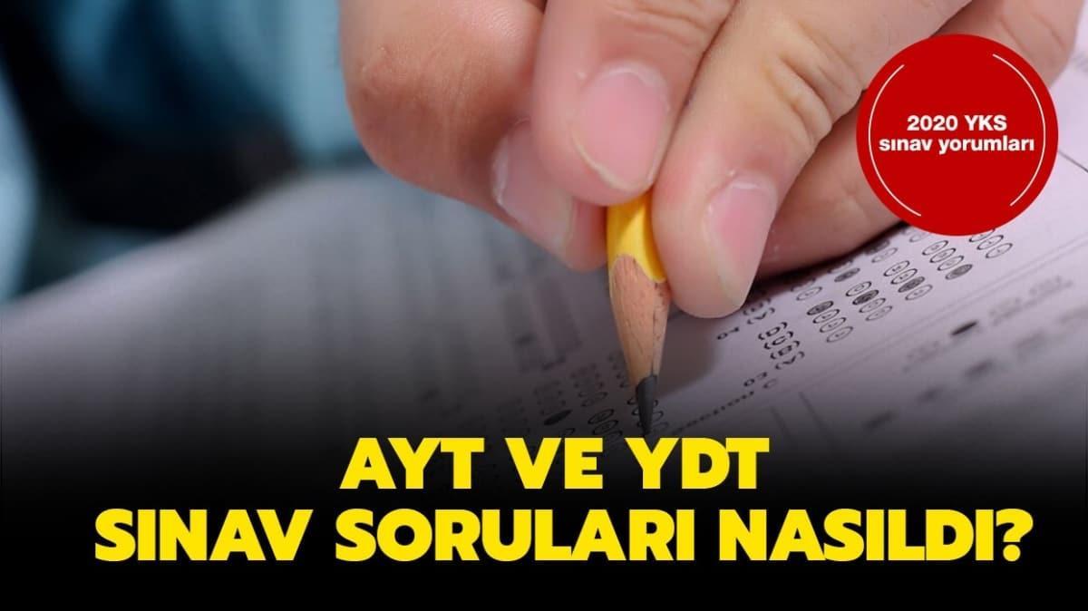 """AYT 2020 sınav yorumları: YKS, AYT soruları nasıldı"""""""