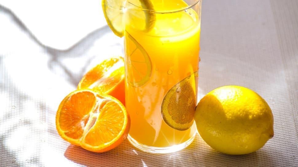 Yaza özel buz gibi turuncu limonata tarifi