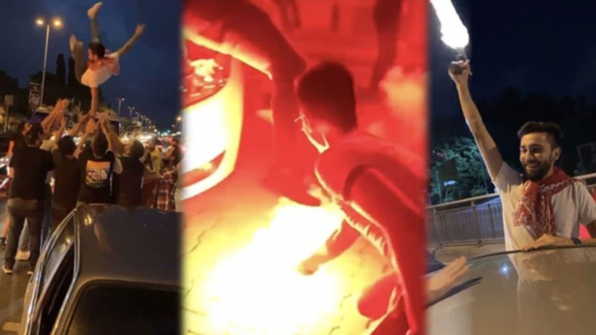 İstanbul'da akılalmaz görüntüler: Emniyet magandaların peşinde