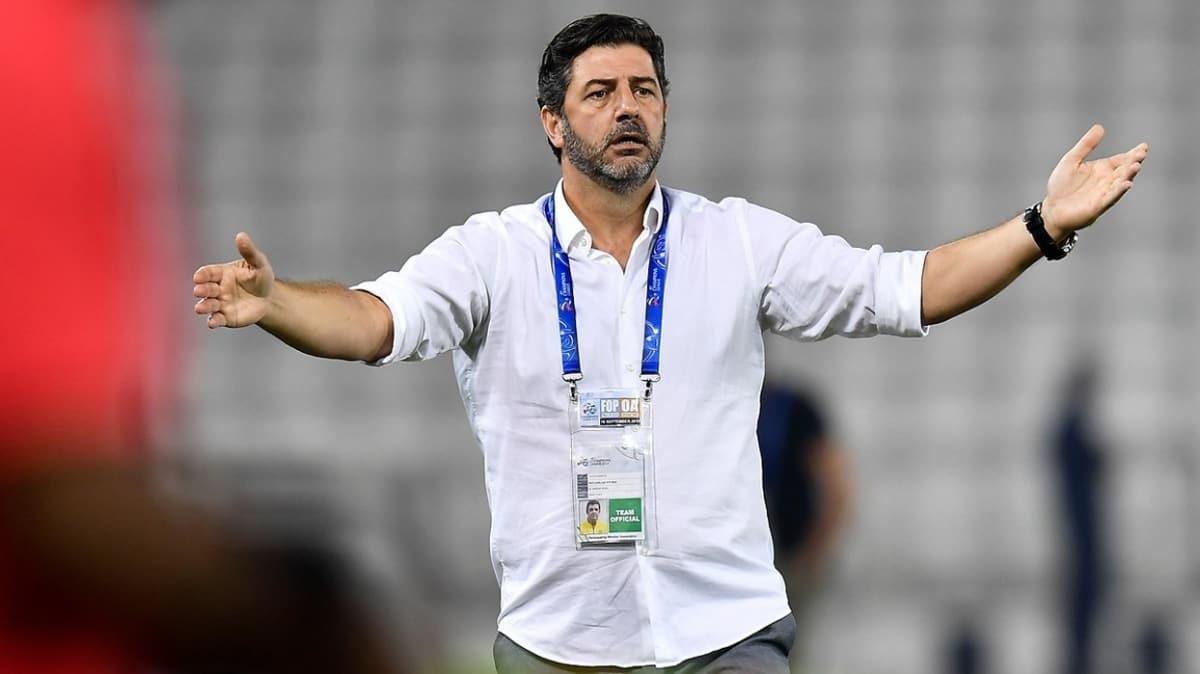 Adı Fenerbahçe'yle anılan Rui Vitoria, Al Nasr ile sözleşme yeniledi