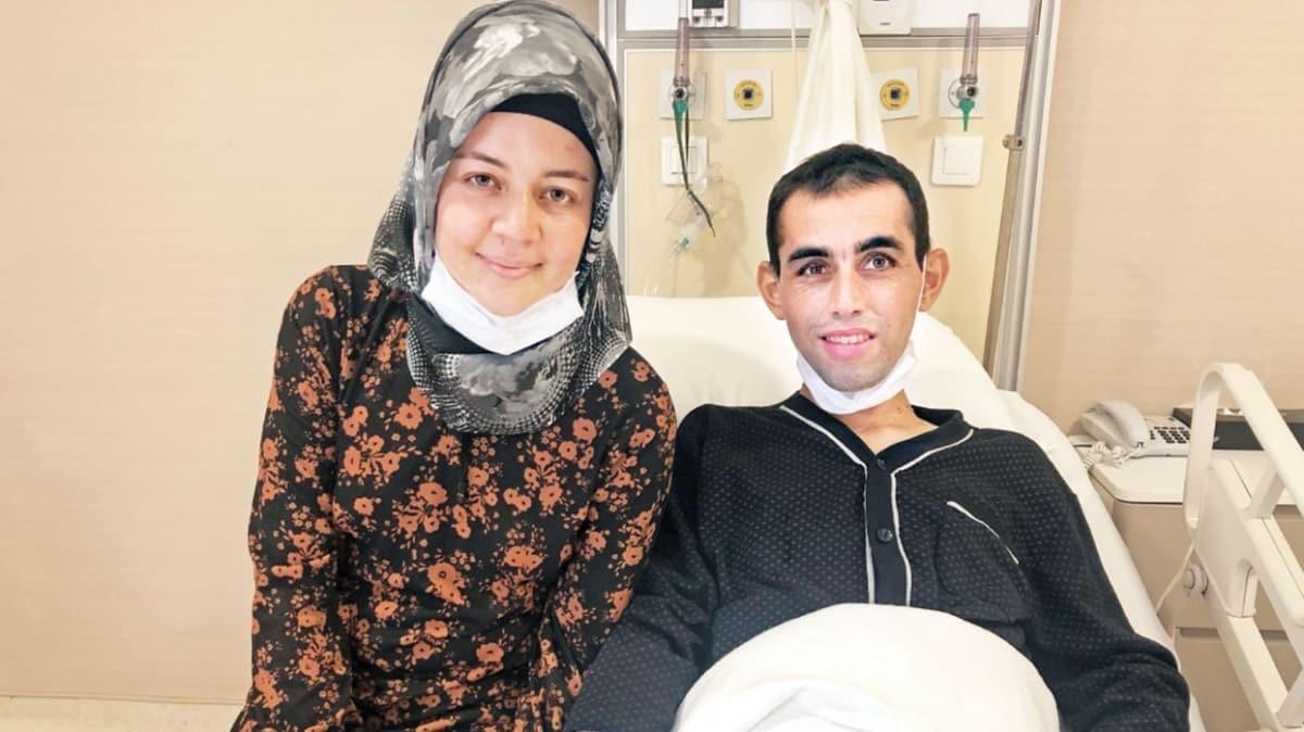 İkinci hayat eşinden geldi! Organ naklini salgın yüzünden kaçırdı
