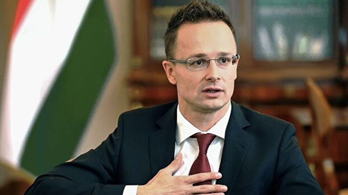 Macaristan Dışişleri Bakanı Türkiye'ye geliyor