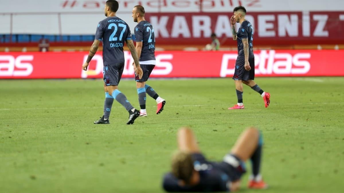 """Trabzonspor nasıl durdu"""" İşte nedenleri"""