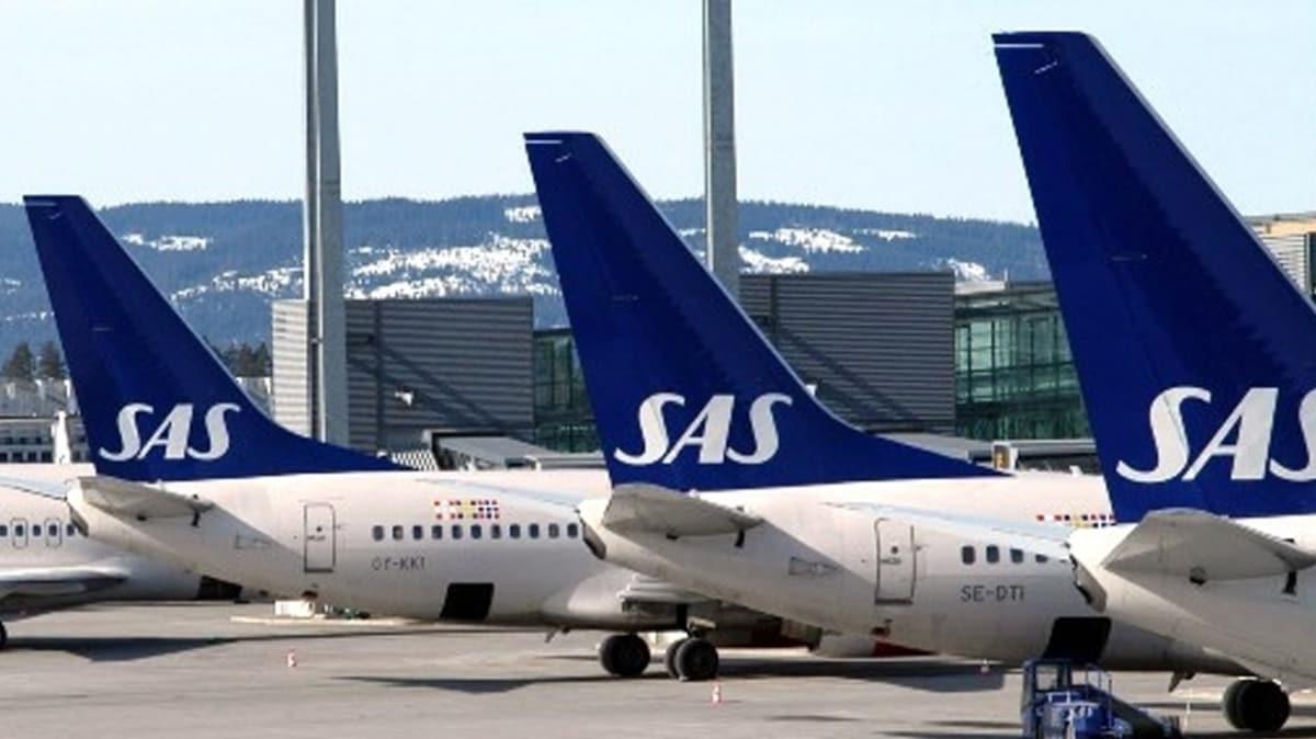 İskandinav Hava Yolları 1593 çalışanını işten çıkarttı