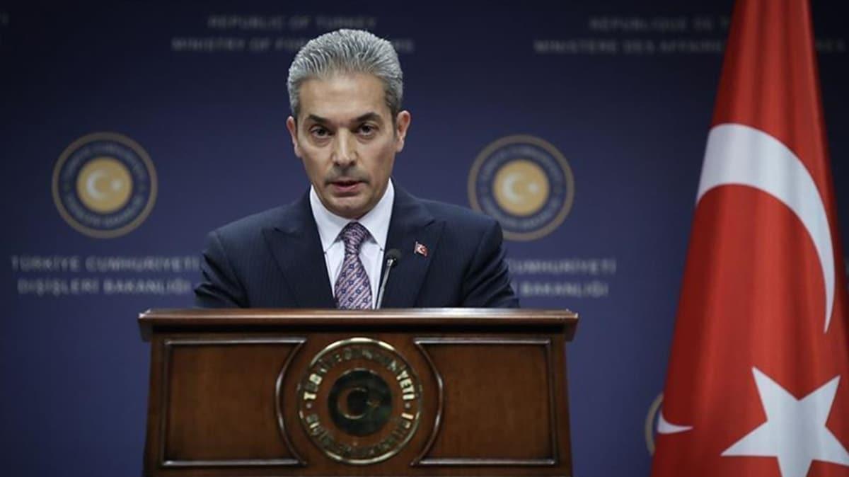 Türkiye'den ABD'de Atatürk heykeline yapılan saldırıya tepki