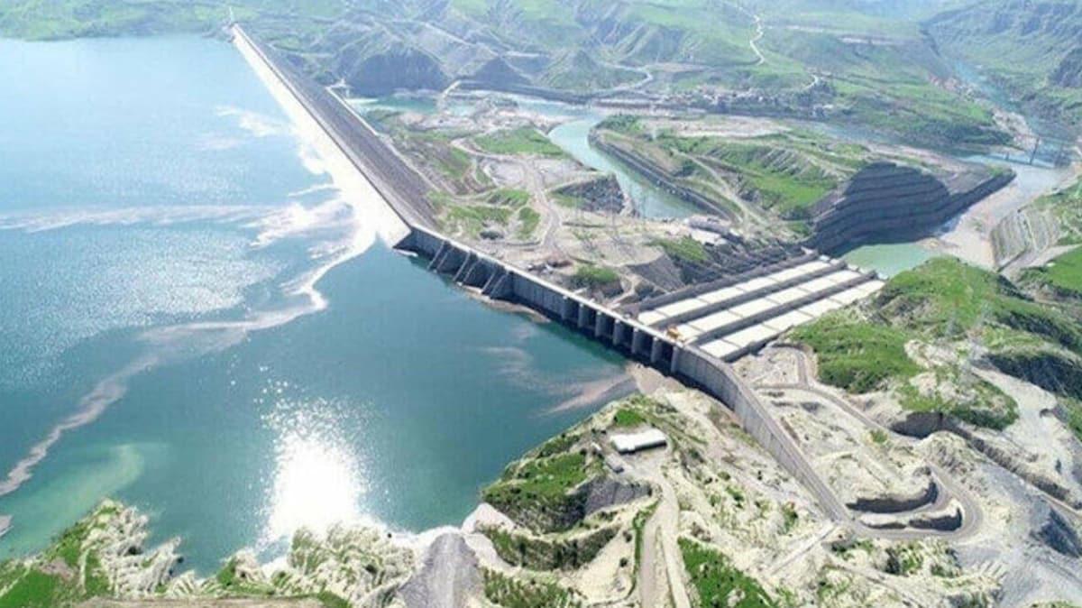 Ilısu Barajı'nın 2'inci ünitesinde de elektrik üretimine başlandı