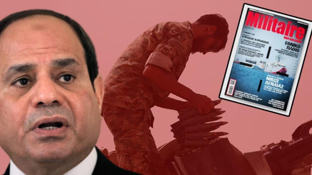 Yunanistan umudunu darbeci Sisi'ye bağladı... Türkiye ile savaş senaryosu!