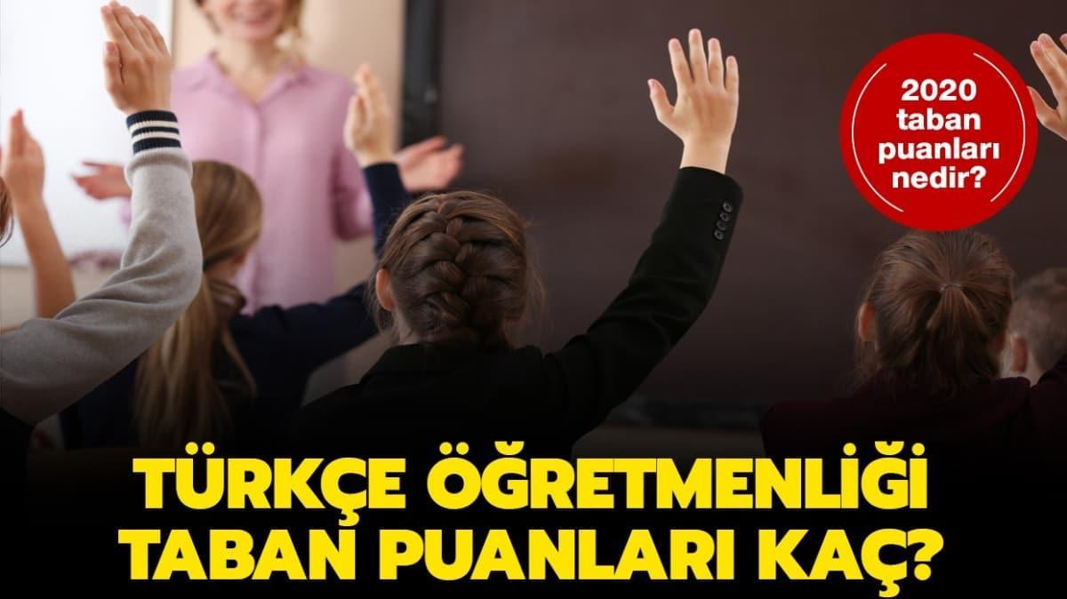 """Türkçe öğretmenliği 2020 taban puanları belli oldu mu"""" YÖK Atlas Türkçe öğretmenliği taban puanları!"""
