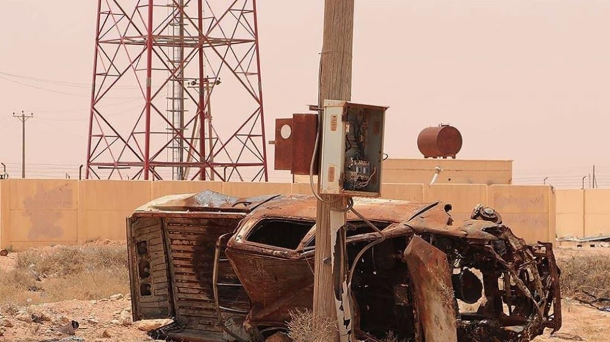 Hafter milisleri elektrik santralini yağmaladı