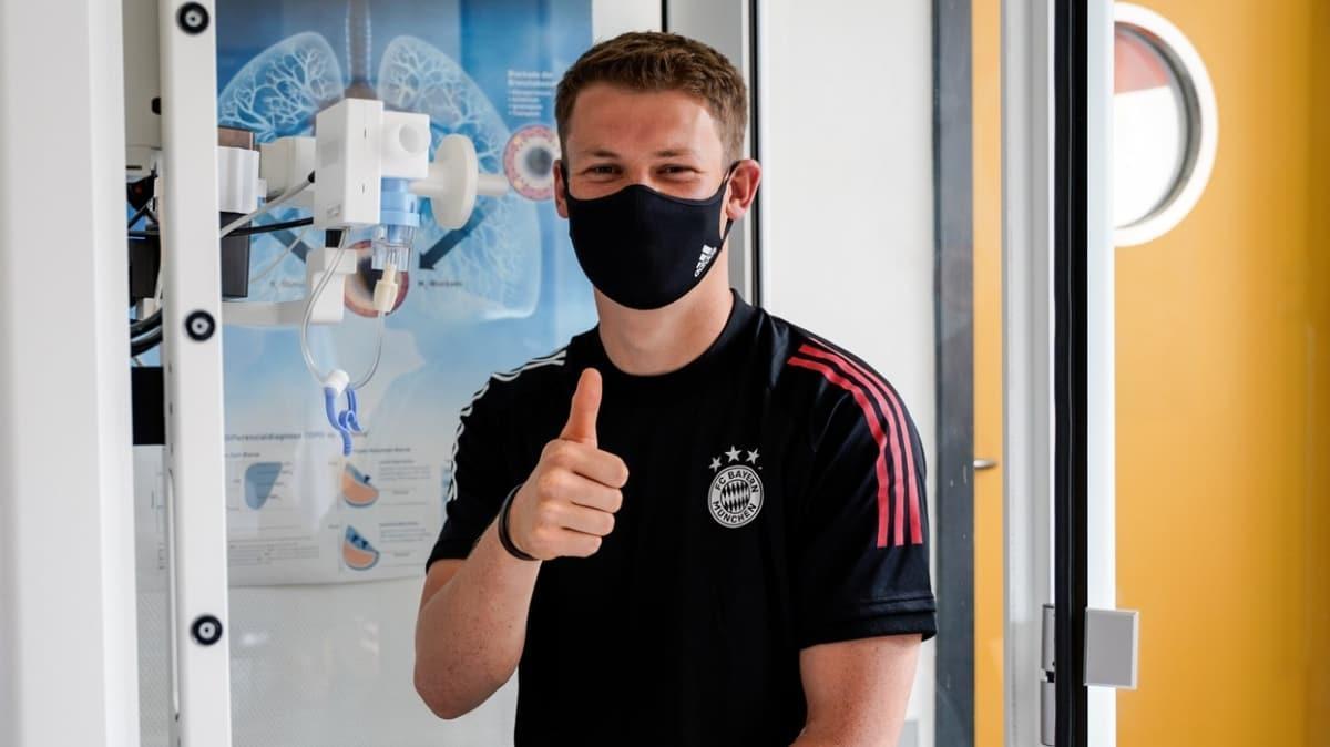 Bayern Münih, kaleci Alexander Nübel'i 5 yıllığına kadrosuna kattı