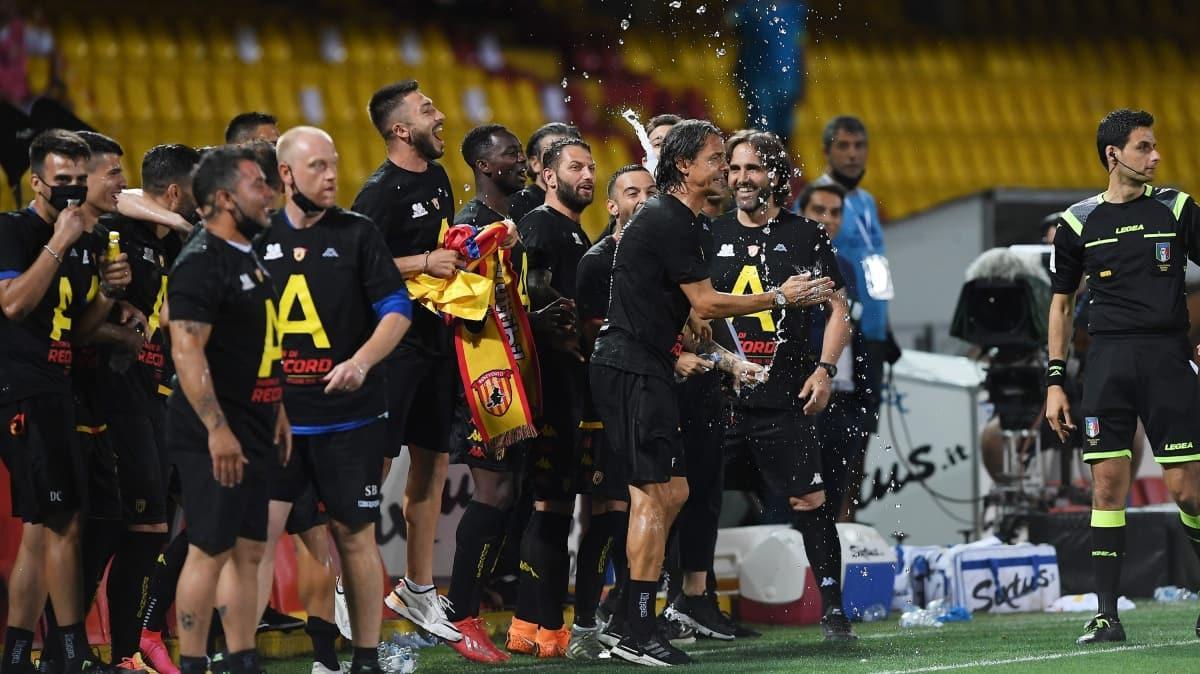 Serie A'ya yükselen ilk takım belli oldu