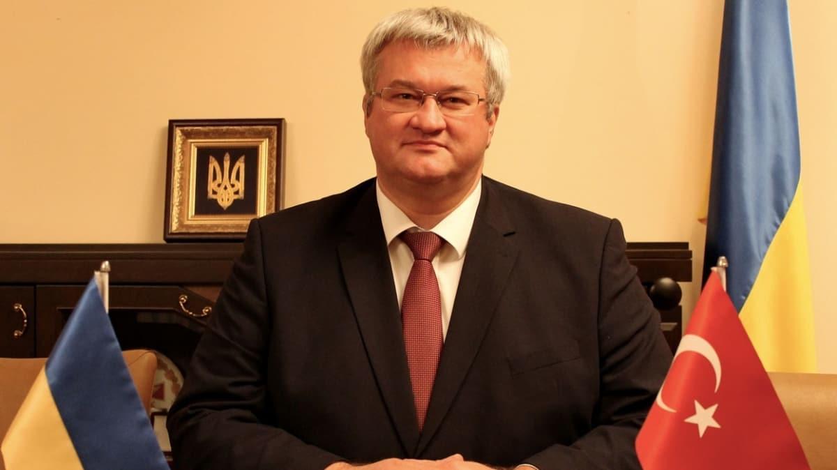 Ukrayna Büyükelçisi Sybiha, Ukraynalılar'ın güvenli tatil için Türkiye'yi tercih ettiğini açıkladı
