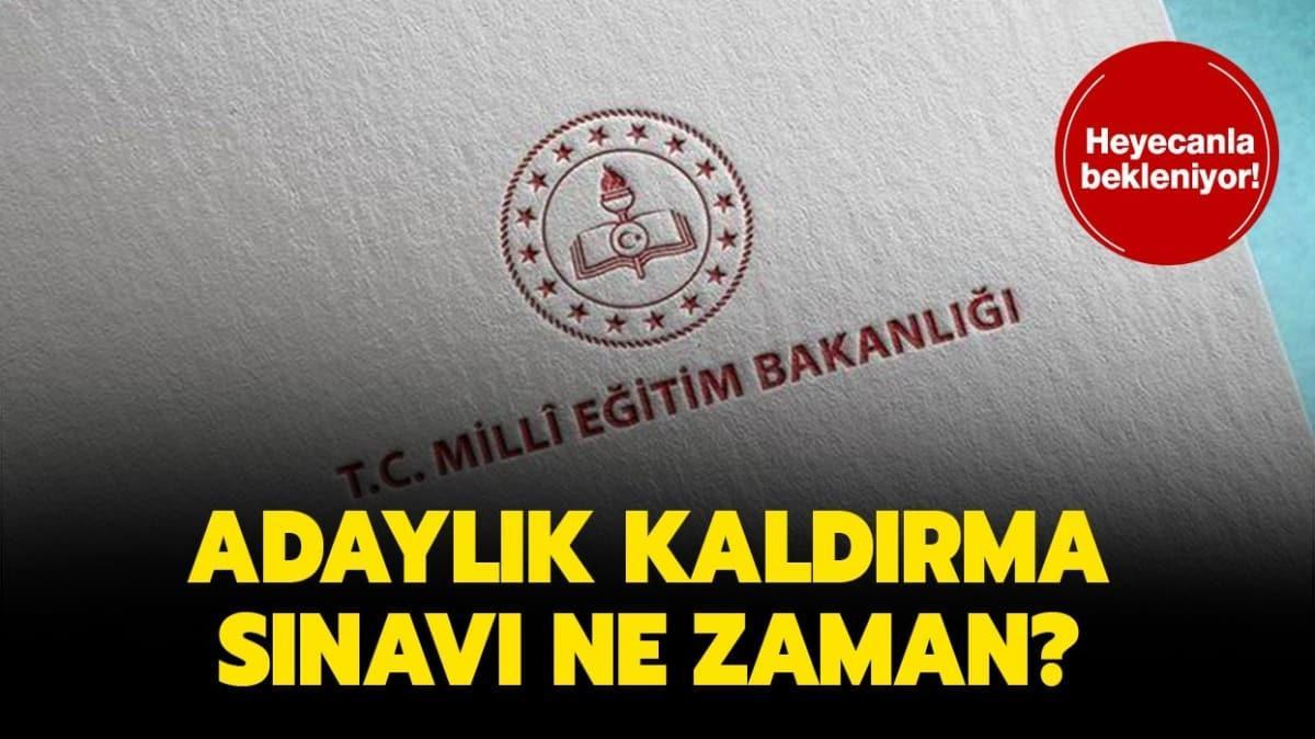 """AKS ücreti ek süresi bitti mi"""" Adaylık Kaldırma Sınavı (AKS) ne zaman"""""""