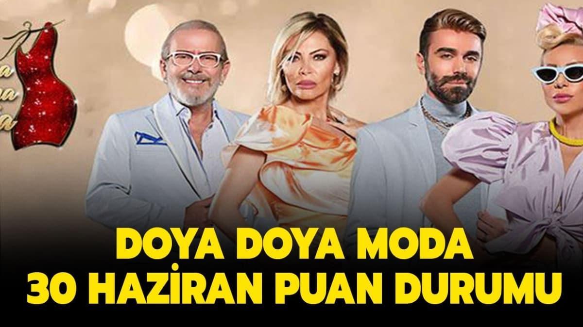 Doya Doya Moda 30 Haziran 2020 puan durumu burada!