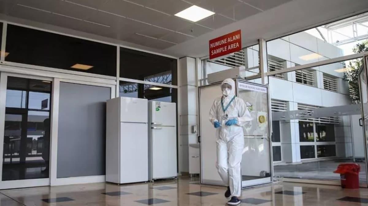 Antalya Havalimanı'na Covid laboratuvarı
