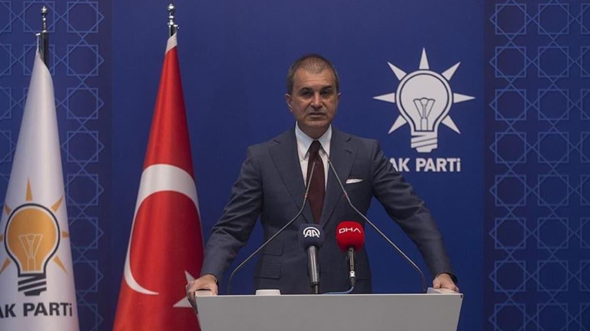 AK Parti Sözcüsü Çelik: Sayın Macron'a ifade etmek isteriz; Libya'da suç işleyen sizsiniz