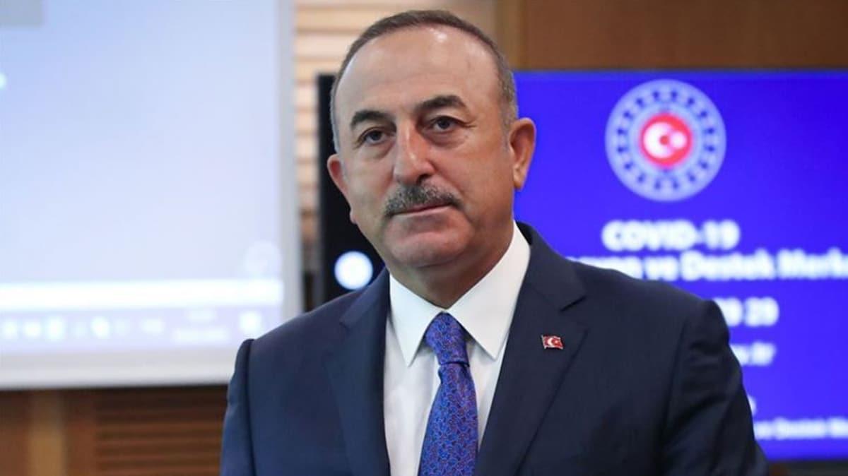 Bakan Çavuşoğlu, Afganistan Dışişleri Bakan Vekili Atmar ile telefonda görüştü