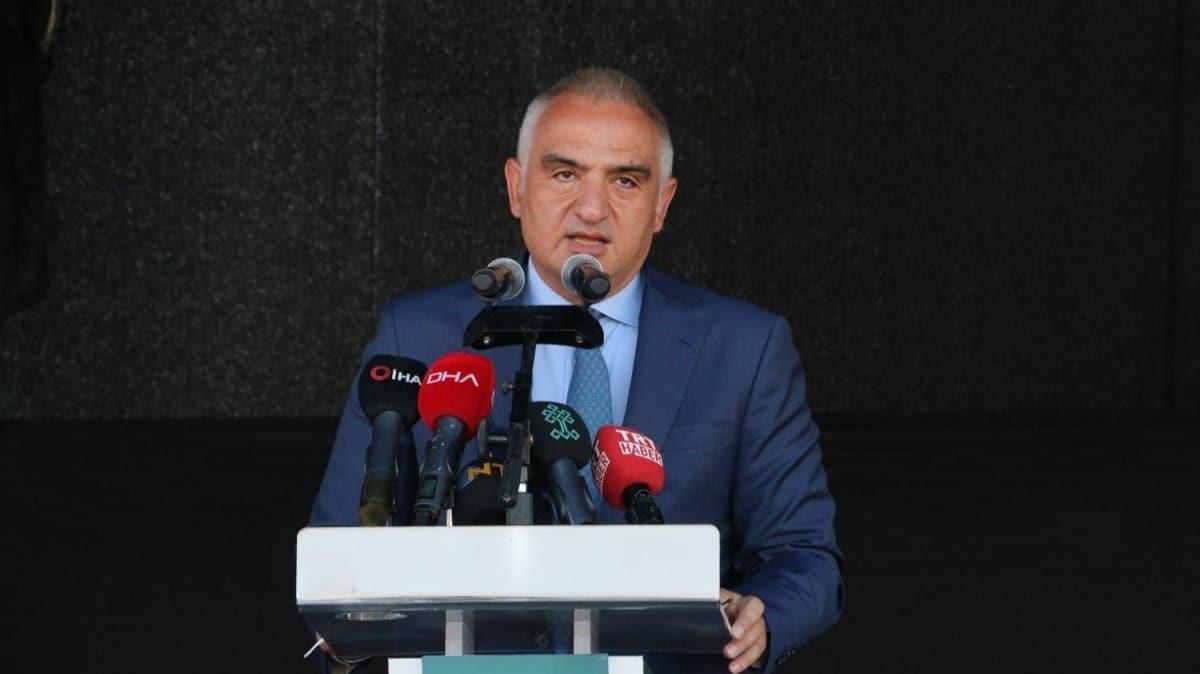 Kültür ve Turizm Bakanı Mehmet Nuri Ersoy: Sineması olmayan ilçelere sinema götüreceğiz