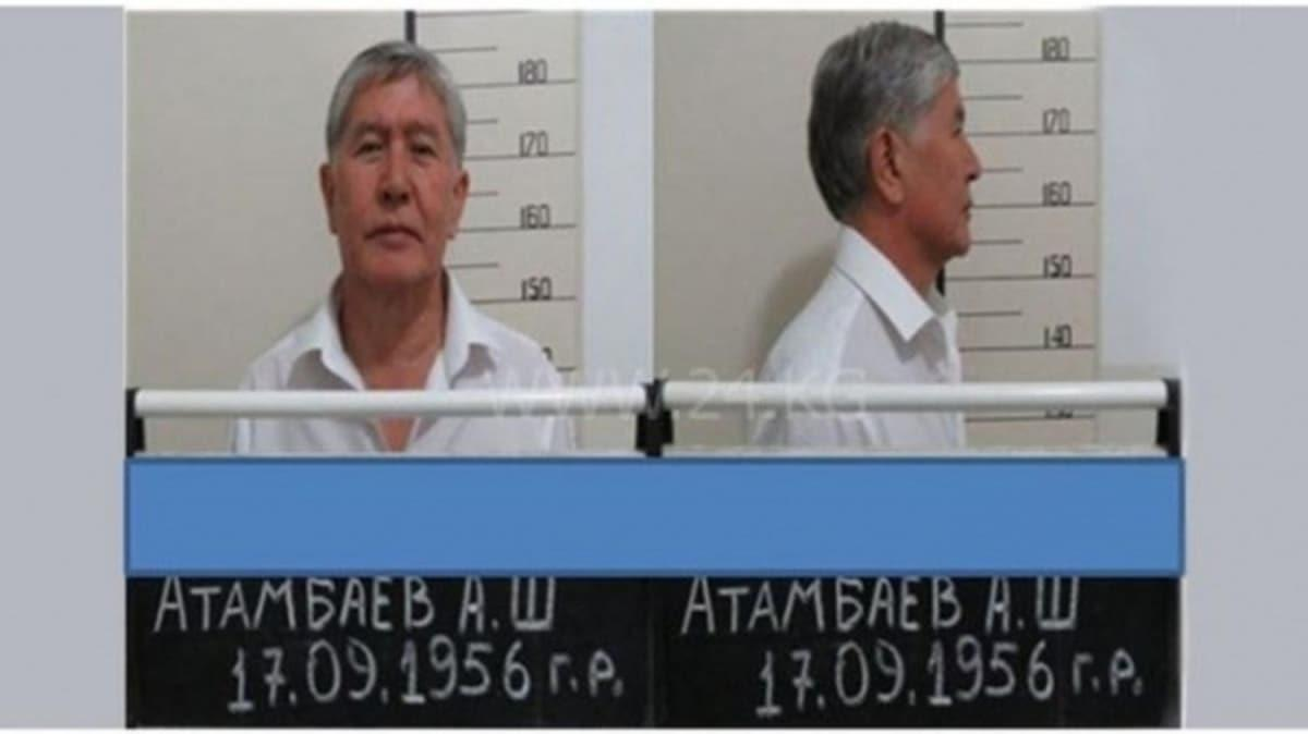 Kırgızistan'da tutuklu eski Cumhurbaşkanı hastaneye kaldırıldı