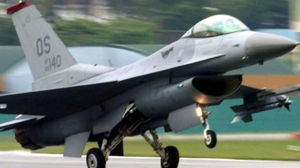 ABD'de eğitim uçuşu yapan F-16 savaş uçağı düştü